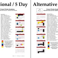 2018-19 Calendar Survey